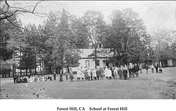 Forest Hill, CA    School at Forest Hill